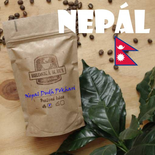 Brdská káva 250 g - Nepál Dudh Pokhari