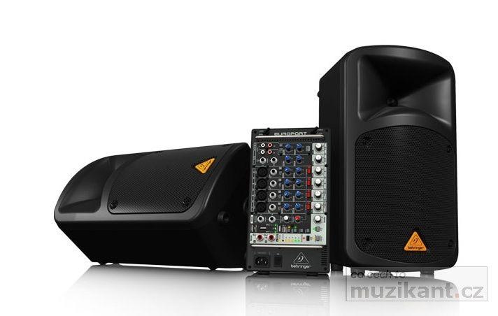 BEHRINGER EPS 500 MP3 - prodloužená záruka 3 roky