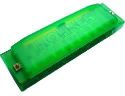 HOHNER Happy Color Harp C dur zelená