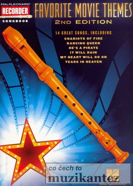 RECORDER Songbook - FAVORITE MOVIE THEMES