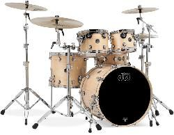 DW Shell set Performance Lacquer Natural Lacquer