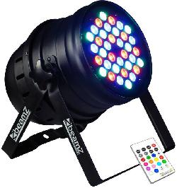BeamZ LED PAR 64 RGB 36x 1W DMX