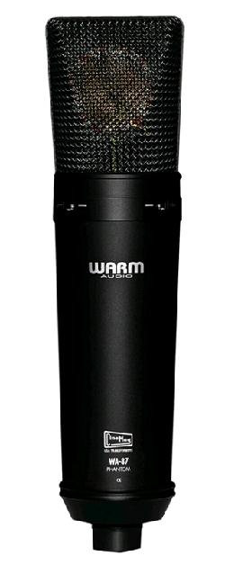 WARM AUDIO WA 87 BLACK